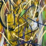 RORSCHACH (36 x 18 Acrylic on Canvas)