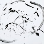 SUMI-E (Acrylic on Canvas 48 x 60)